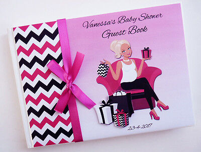 Mum To Be (Mom To Be) Girl Baby Shower Guest Book - Any Design