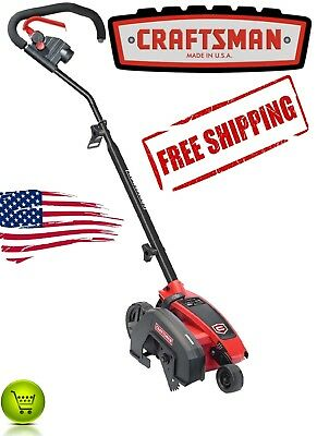 Craftsman 110V Electric Corded Lawn Edger Trimmer Garden Grass 2-in-1 NEW