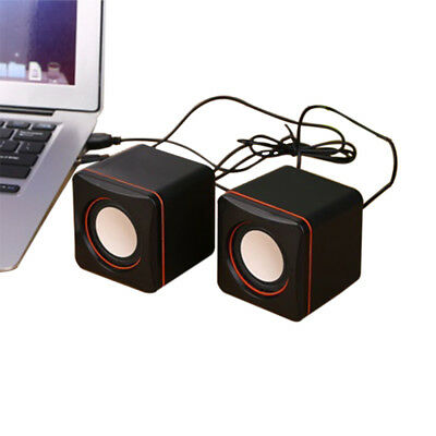 Mini Boxen USB 2.0 Powered Speaker Lautsprecher for Computer Laptop PC Notebook