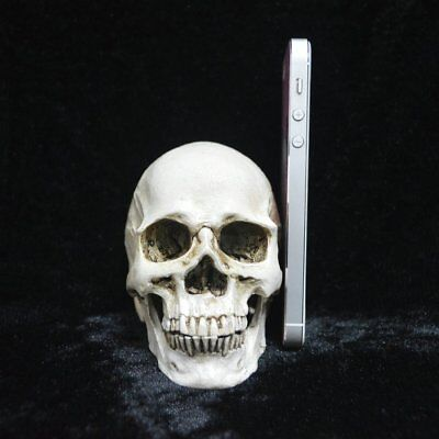 Small Skeleton Decoration Creative Horrible Model Toy Scary Tricky Toy Home G@