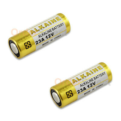 2 PACK Battery A23 23A 21/23 MN21 23AE Car Remote FOB Control Doorbell US HOT!