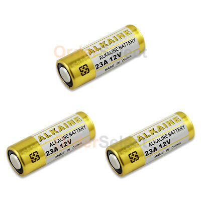 3 PACK NEW Battery A23 23A 23AE A23BP MN21 MN23 21/23 GP23 23GA US Seller HOT!