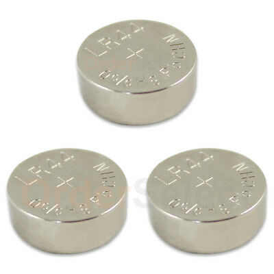 3 PACK NEW Battery Coin Cell Button 1.5V 303 357 A76 AG13 LR44 LR154 US Seller