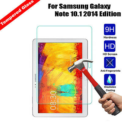 9H Premium Tempered Glass Screen Protector Cover Skin Film For Samsung Tablet