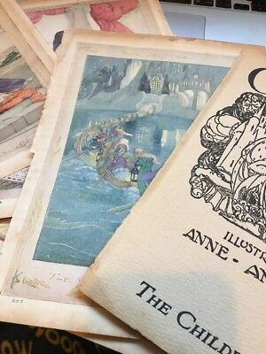 Grimms Fairy Tales Anne Anderson 4 Colour Book Plates Prints Antique 1930s & GRIMMS FAIRY Tales Anne Anderson 4 Colour Book Plates Prints Antique ...