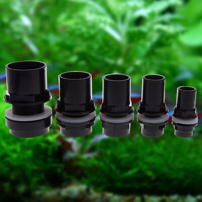 Aquarium Fish Tank Water Joint PVC Waterproof Fitting Water Tank Fitting Pipe
