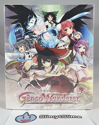 Touhou Genso Wanderer - Limited Edition (Sony PlayStation 4 PS4, 2017) NEW, RARE