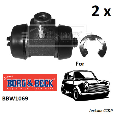 REAR BRAKE WHEEL CYINDER PAIR for VAUXHALL VICTOR FB BORG /& BECK