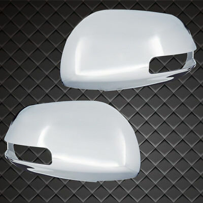 EAG Fit For 06-12 Toyota RAV4 Side Mirror Cover A Pair Triple Chrome Plated ABS