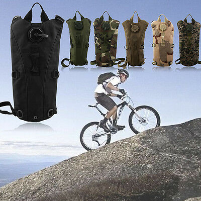 Digital Desert Camo Outdoor Sports Backpack Hydration Bicycle Water Bag 5L LI