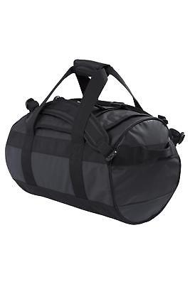 Mountain Warehouse Cargo Bag with Adjustable Straps - 40 L Capacity in Black