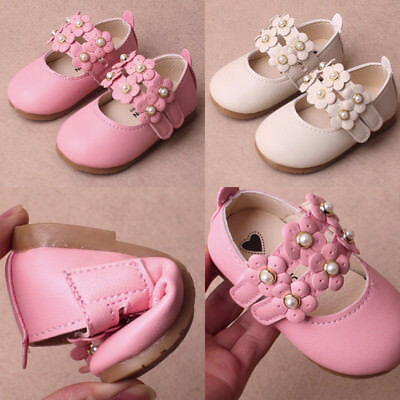Baby Girls Floral Sandals Sneaker Toddler Kid Party Pricness Casual Single Shoes