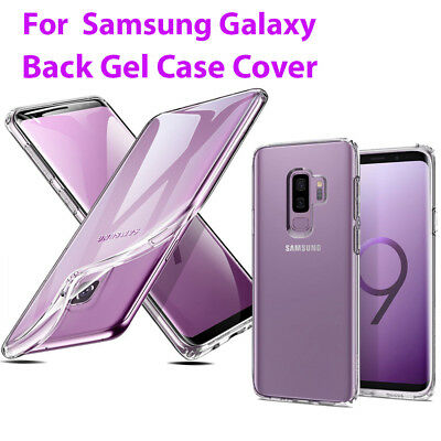 NEW For Samsung Galaxy S9 and S9 Plus Ultra Thin Clear Gel Case Silicone Cover