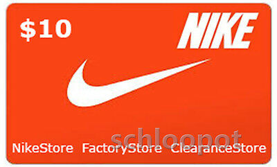 online store fe974 c9b14  10 NIKE Gift Card In Store Only!  17L QUICK DELIVERY giftcard READ ALL