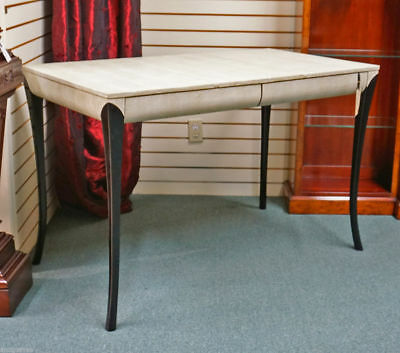 Art Deco Shagreen Writing Table Computer Desk Vanity French Ruhlman style MINT