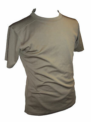 """British Army MTP Self Wicking Brown Combat T-Shirt Anti-Static Size 44/46""""Chest"""
