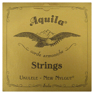 Aquila Concert Ukulele Strings - Regular Gcea Tuning Nylgut - 7U Superior Sound