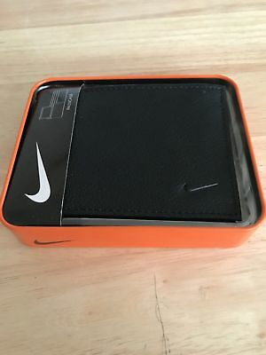 521908e21c NIKE GOLF MEN'S Trifold/Bifold Leather Wallet Black - $26.69 | PicClick