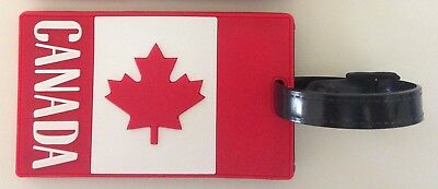 CANADA LUGGAGE BAGGAGE ID Travel TAG Maple Leaf Backpack Handbag Purse