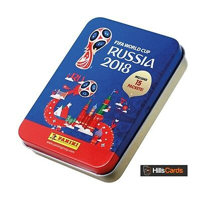 Fifa World Cup 2018 Football Sticker Collection: Sticker Tin - Inc 15 Packets