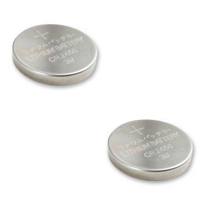 2 PACK Battery Coin Button Watch 3V CR2450 CR 2450 DL2450 Authorized Seller HOT!
