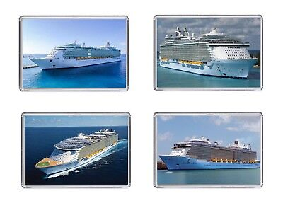 ROYAL CARIBBEAN of the Seas CRUISE SHIP Fridge magnets