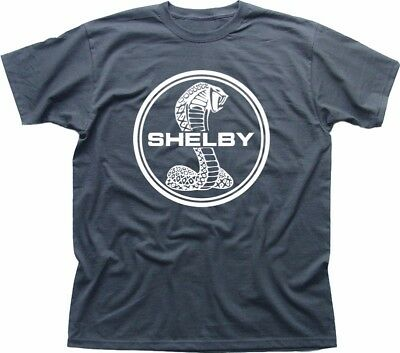 Shelby Cobra muscle car GT350 mustang gift for Dad grey tshirt FN9221