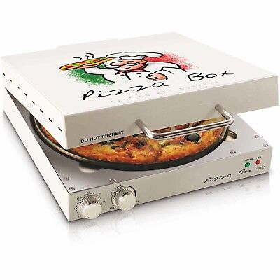 Electric Commercial Steel Countertop Concession Kitchen Pizza Snack Oven Top NEW