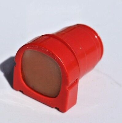Vintage Red Craftsman Guild Slide And Film Magnifier