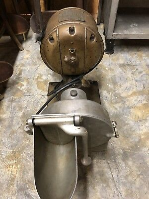 Vintage Hobart Electric Commercial Pelican Head Grader