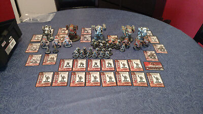 AT-43 Rackham Army Red Block Sci-Fi Russians Mechs Painted WW II 2 communists