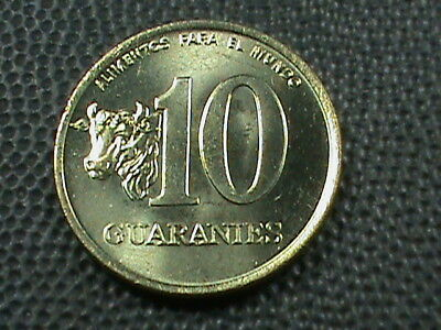 PARAGUAY  10 Guaranies  1990  UNCIRCULATED  ,  $ 2.99  maximum  shipping  in USA
