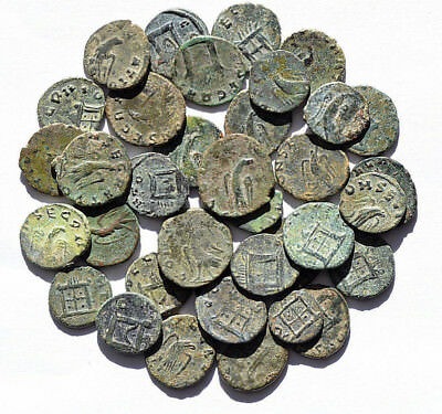 Lot 2 Roman Coins Claudius Ii, Authentics. Each Bid Is Per 2 Ancient Coins.