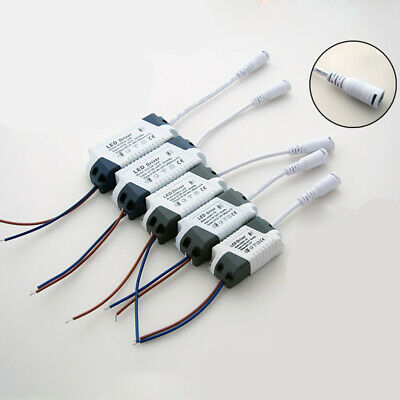 3~24w Led Dc12~28v To Ac90~265v Driver Power Supply Adapter For Led Lights Lamps