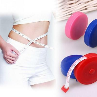 Portable 1.5m Retractable Ruler Body Measure Tape Measure Mini Ruler 1-10PCS AR2