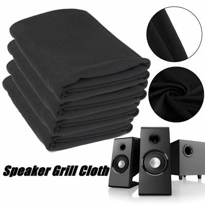 Speaker Grill Cloth Stereo Gille Fabric Speaker Mesh Cloth Prevent Dust 1.4x0.5M