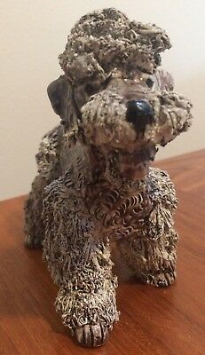 Large Spaghetti poodle Dog hand signed Jane Callender