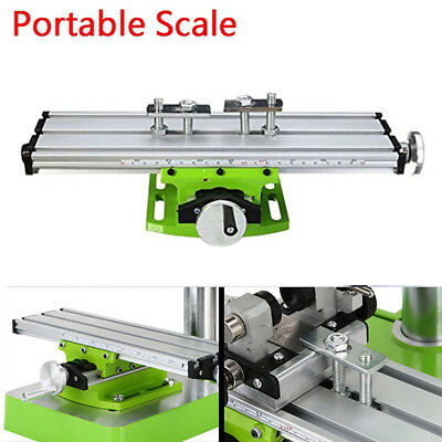 AU Mini Multifunction Working Table Milling Machine Worktable For Bench Drill