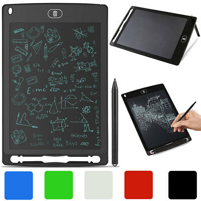 "8.5"" Kids LCD Drawing Writing Tablet Office Memo Pad Board Message Whiteboard"