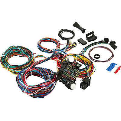 12 circuit wiring harness chevy mopar ford hot rods universal wires rh picclick com