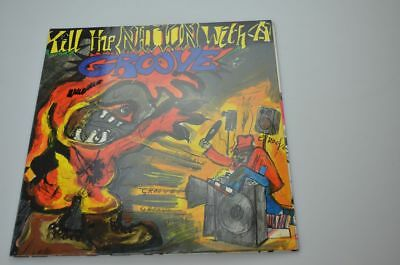 Various Artists Kill The Nation With A Groove German Hiphop Classic Promo Mint!!