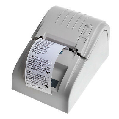 ZJ-5890T 58mm lightweight Thermal Receipt Printer Compatible With ESC / POS Set