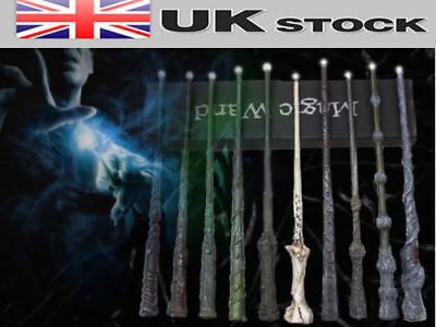 Harry Potter Magic Wand Characters LED Film Cosplay Fancy Dress Party *UK Stock
