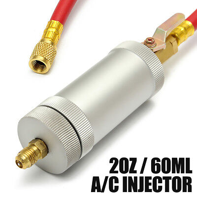 2 oz  A/C Oil and Dye Injector Car Automotive Injection Tool For R134A R12 R22