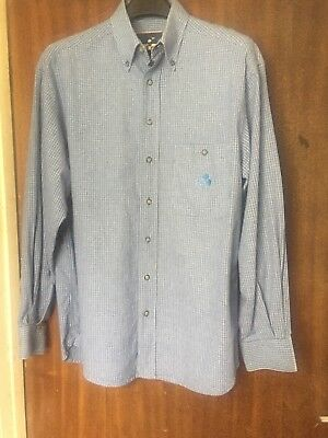Mens vintage Mickey Mouse Button Up Shirt official Disney store Size M