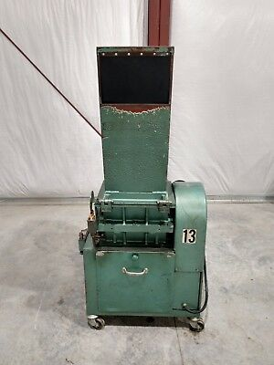 "Rapid granulator 7.5hp 9""X12"" Open Rotor Model 912C"