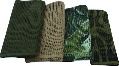 Scrim Net Sniper Veil Tactical Army Mesh Camouflage Face Veil Cotton Net Scarf
