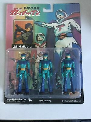 Gallactor Troopers x 3 - Gatchaman Battle Of The Planets- Zoltar, Mark Star Wars