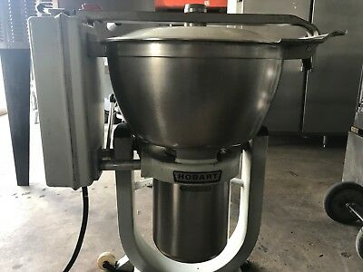 USED Hobart HCM450-61 45-qt Cutter Mixer w/ Stainless Tilting Bowl