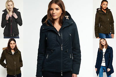 New Womens Superdry Jackets Selection - Various Styles & Colours 22703